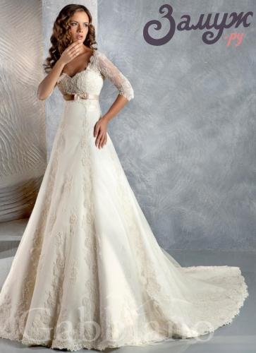 под платье у невесты