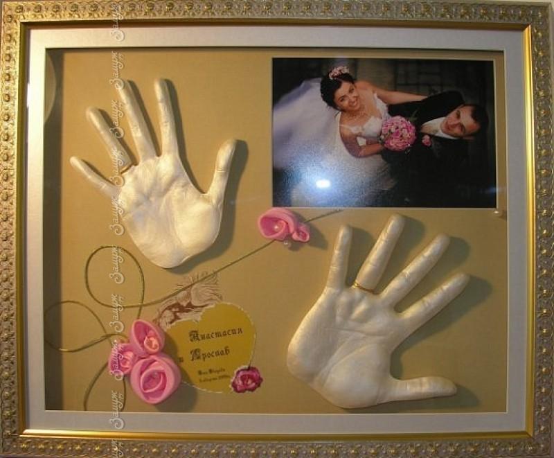 Подарок своими руками родителям на свадьбу