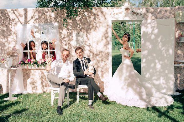 Свадебный банкет своими руками