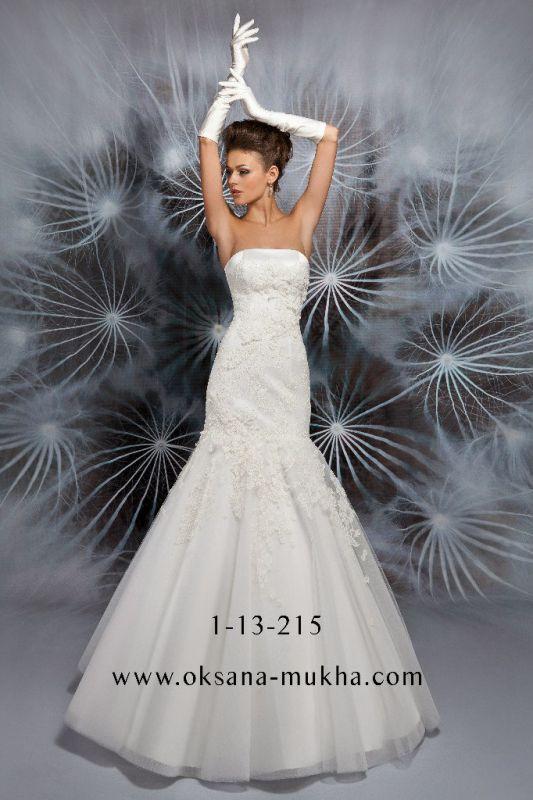 Вот какие модели свадебных платьев фасона «Рыбка» предлагает в 2013 году студия «Oksana Mukha»